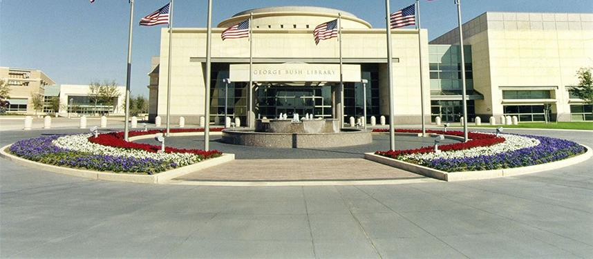 George Bush Presidential Library at Texas
