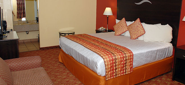 King Guestroom at Manor Inn College Station